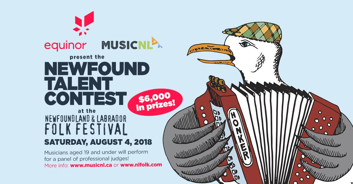EQUINOR MUSICNL NEWFOUND TALENT CONTEST 2018