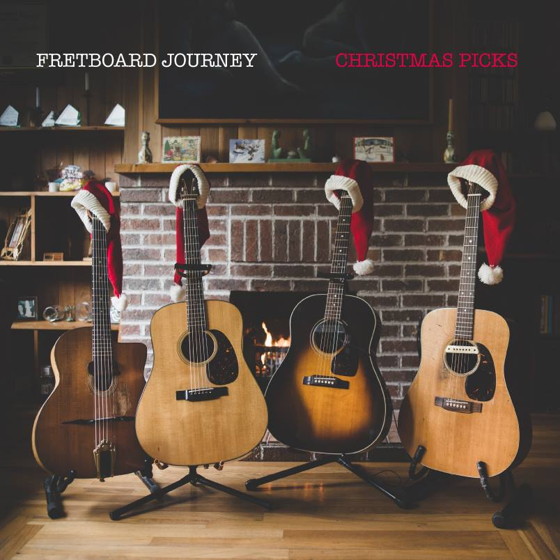 Fretboard Journey Release Their 'Christmas Picks' Album!