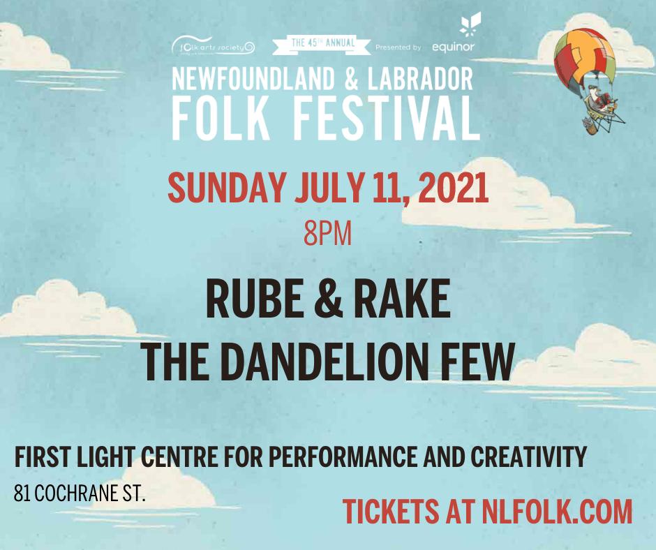 Rube & Rake and The Dandelion Few