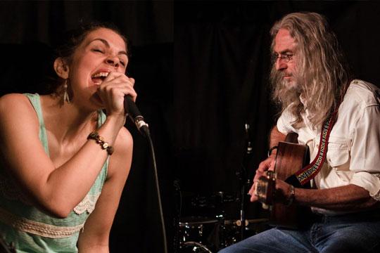 Jenny Gear & Sandy Morris