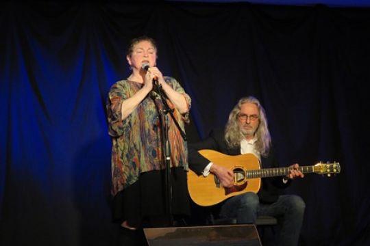 Anita Best and Sandy Morris