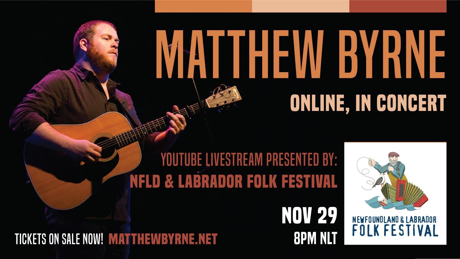 Matthew Byrne in Concert